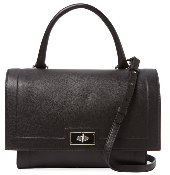 Givenchy Shark Small Leather Satchel