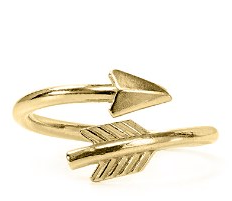 Alex and Ani Lovestruck Arrow Wrap Ring | Bloomingdale's