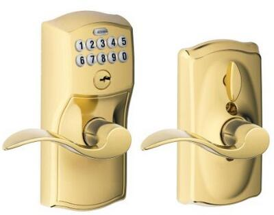 Schlage FE595 CAM 505 ACC Camelot Keypad Entry密码锁