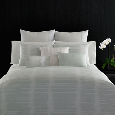 Vera Wang Painted Stripe Duvet Set