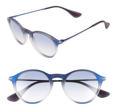 Ray-Ban 'Youngster' 49mm Round Sunglasses