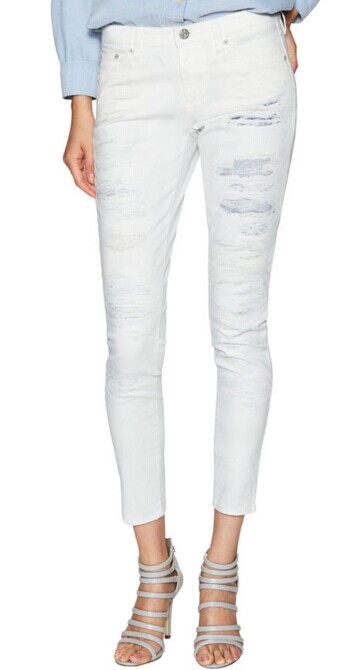 Low-Rise Cropped Jeans by AG Adriano Goldschmied at Gilt