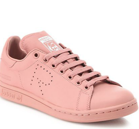 Adidas By Raf Simons Stan Smith Pink Leather Sneakers