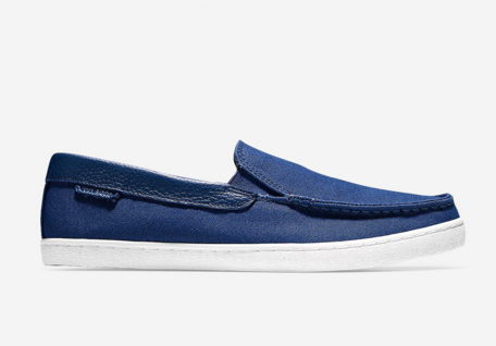 Nantucket 2 Gore Loafers in Blue Canvas