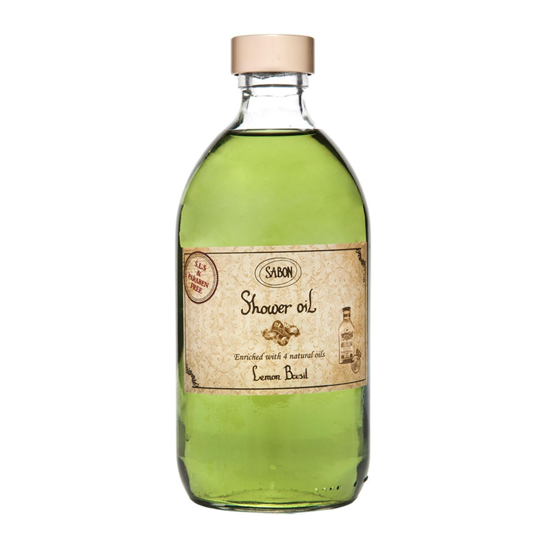 The Sabon ® Shower Oil is part of our containing Lemon Basil