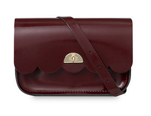 The Cambridge Satchel Company - The Patent Oxblood Small Cloud Bag