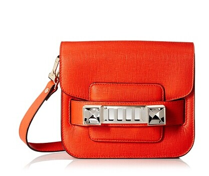 Proenza Schouler Women's PS11 Tiny Cross-Body, Fire Red at MyHabit