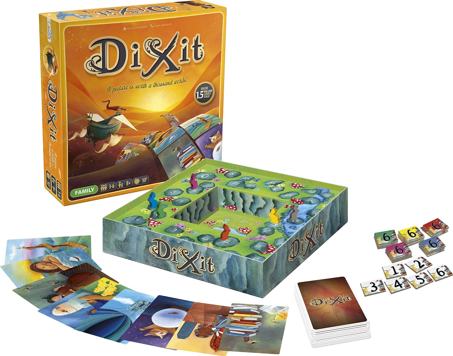 Dixit (Cover Art May Vary): Toys & Games