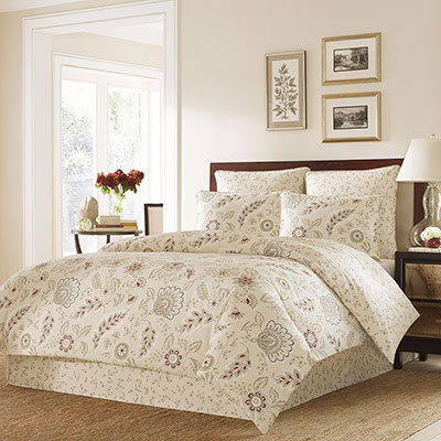 Stone Cottage Bordeaux Comforter and Duvet Set