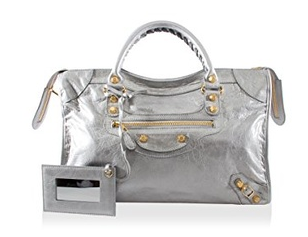 Balenciaga Giant 12 City Bag, Silver Grey