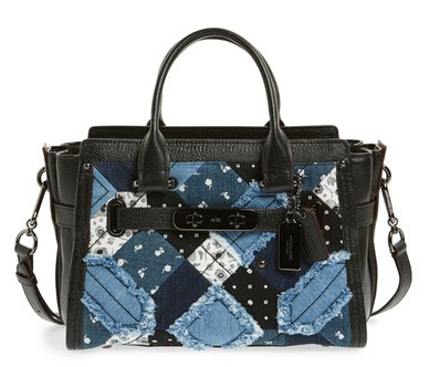 COACH 'Swagger 27' Patchwork 拼布包包