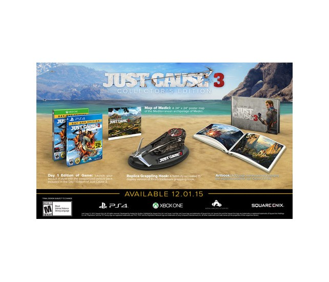 Just Cause 3: Collector's Edition - Xbox One