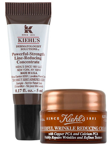 Wrinkle Reducing Cream (7ml) and Strength Line Reducing Concentrate (5ml)
