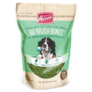 Merrick Big Brush Bones Dental Dog Chews | Pet Food Direct