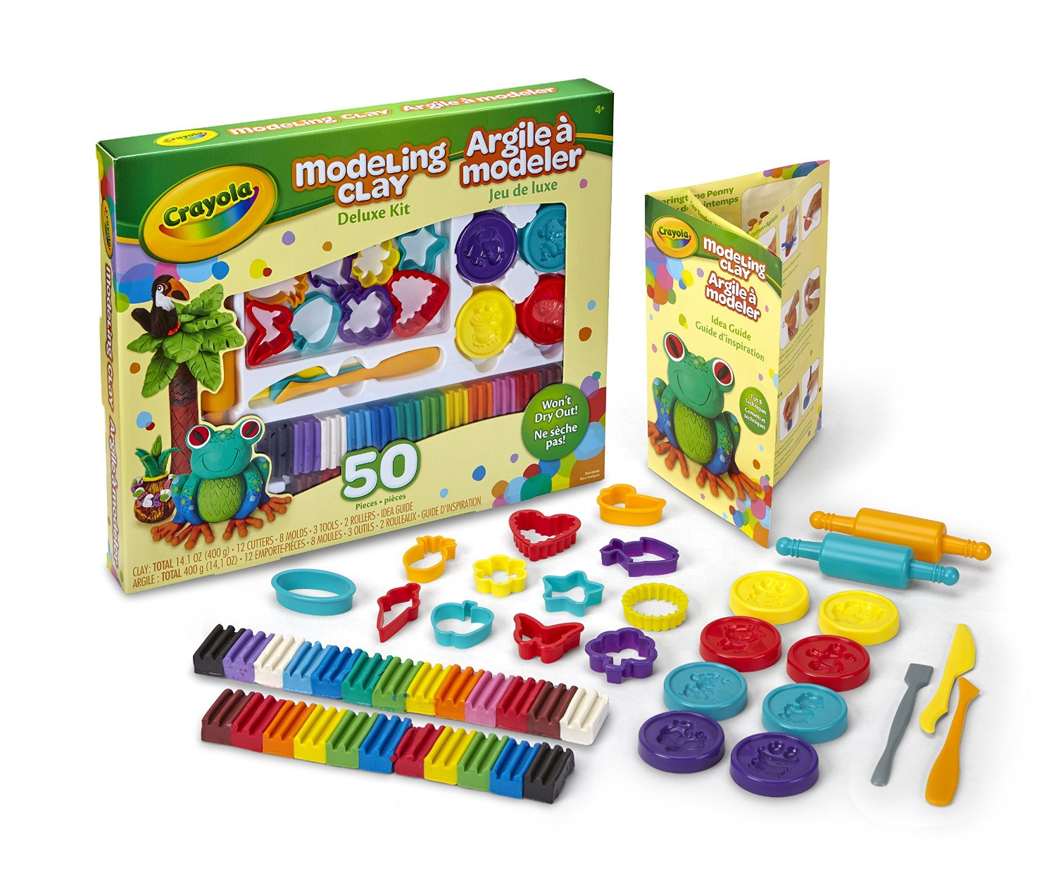 Crayola Modeling Clay Deluxe Kit