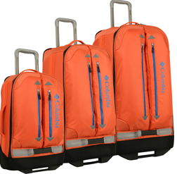 Columbia Pack And Go 3 Piece Wheeled Luggage Set
