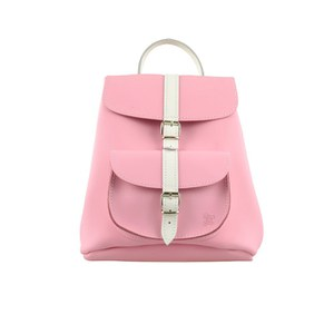 Grafea Women's Amelia Baby Backpack - Pink/White