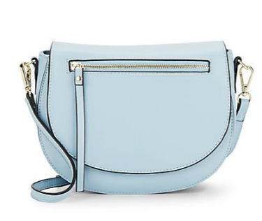 Sylvie Leather Saddle Bag - SaksOff5th