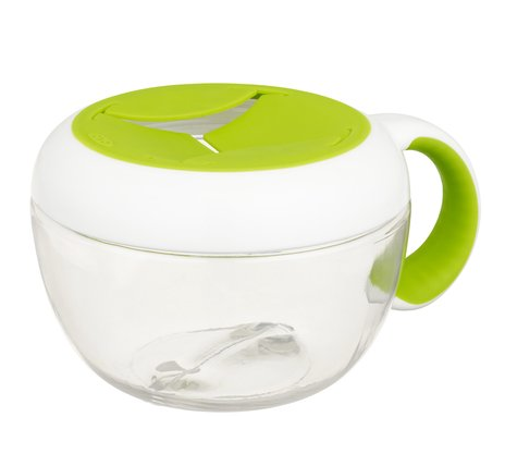 OXO Tot Flippy Snack Cup w/Travel Cover - Green