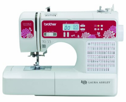 Laura Ashley Limited Edition CX155LA Computerized Sewing & Quilting Machine with Built-in Font for Basic Monogramming