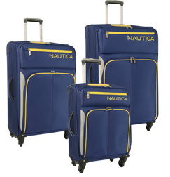 Nautica Ashore 3 Piece Expandable Spinner Luggage Set
