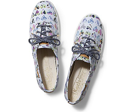 Women - LIBERTY CHAMPION HEARTS - White Multi Hearts | Keds