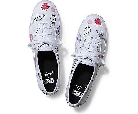 Women - CHAMPION ILLUSTRATION - White Black | Keds