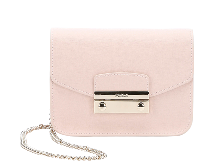 Furla Magnolia Leather Mini 'julia' Chain Crossbody (375135001) | Bluefly