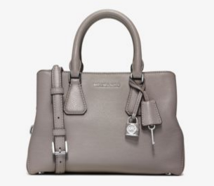 MICHAEL MICHAEL KORS Camille Small Leather Satchel
