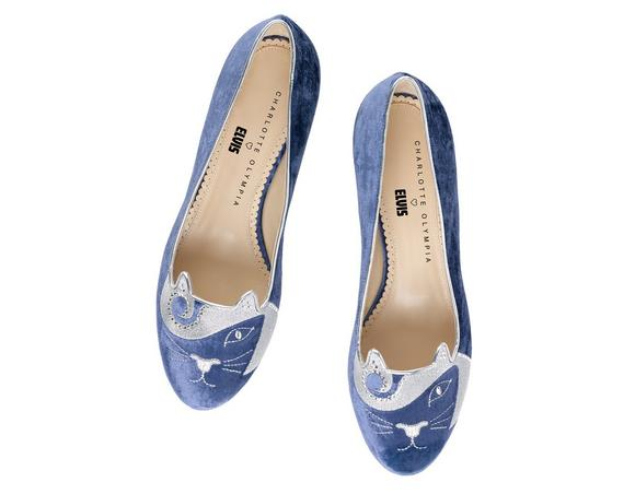 THE KING KITTY|SLIPPER|Charlotte Olympia SHOES