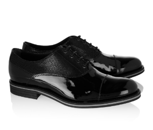 Paneled patent-leather brogues | Tod's | 52% off | US | THE OUTNET