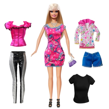 Barbie Doll & Fashions Gift Pack