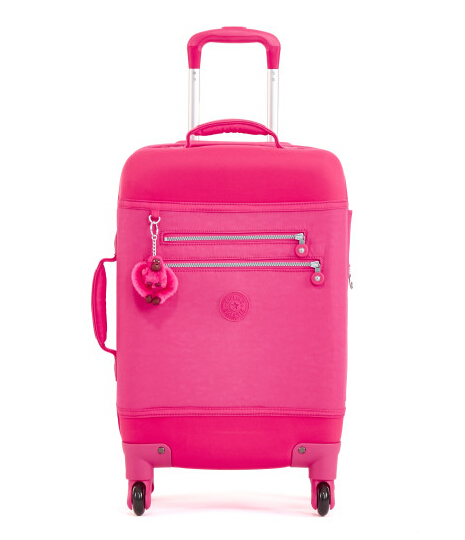 MONTI S ROLLING LUGGAGE - VIBRANT PINK