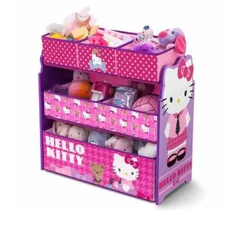 Hello Kitty Multi-Bin Toy Organizer - Walmart.com