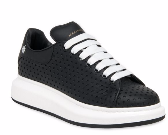 Alexander McQueen Star Perforated Sneakers