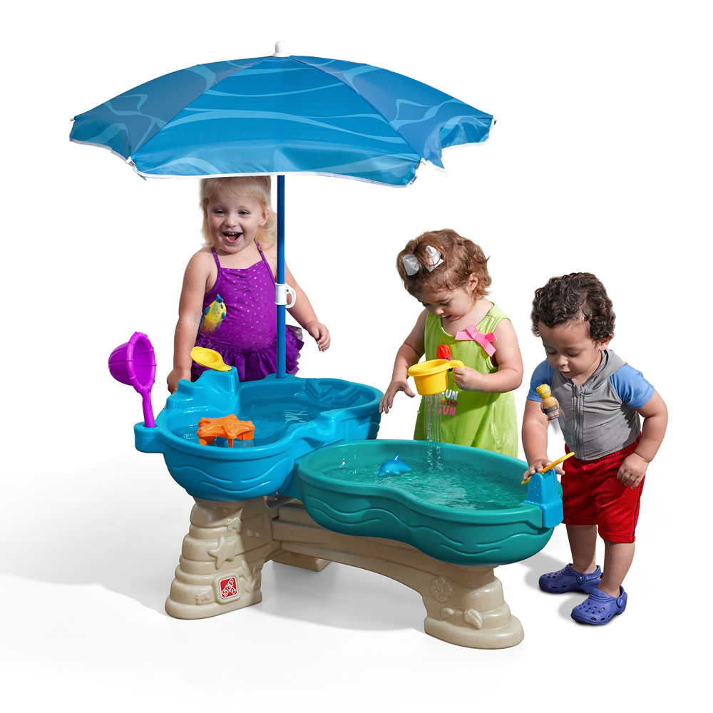 Spill & Splash Seaway Water Table | Kids Sand & Water Play | Step2