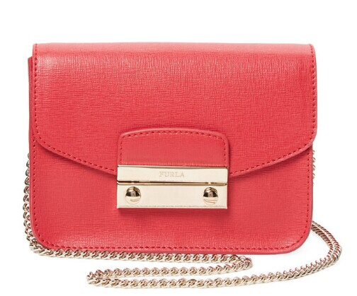 Julia Mini Saffiano Leather Crossbody by Furla at Gilt