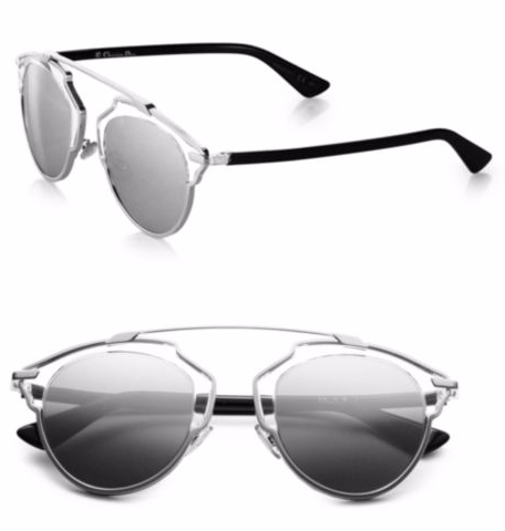 Dior So Real Metal & Plastic Sunglasses