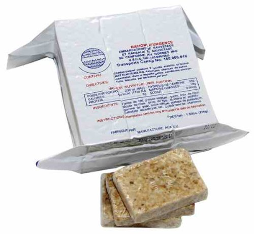 S.O.S. Rations Emergency 3600 Calorie Food Bar - 3 Day / 72 Hour Package with 5 Year Shelf Life - Nutrition Bars
