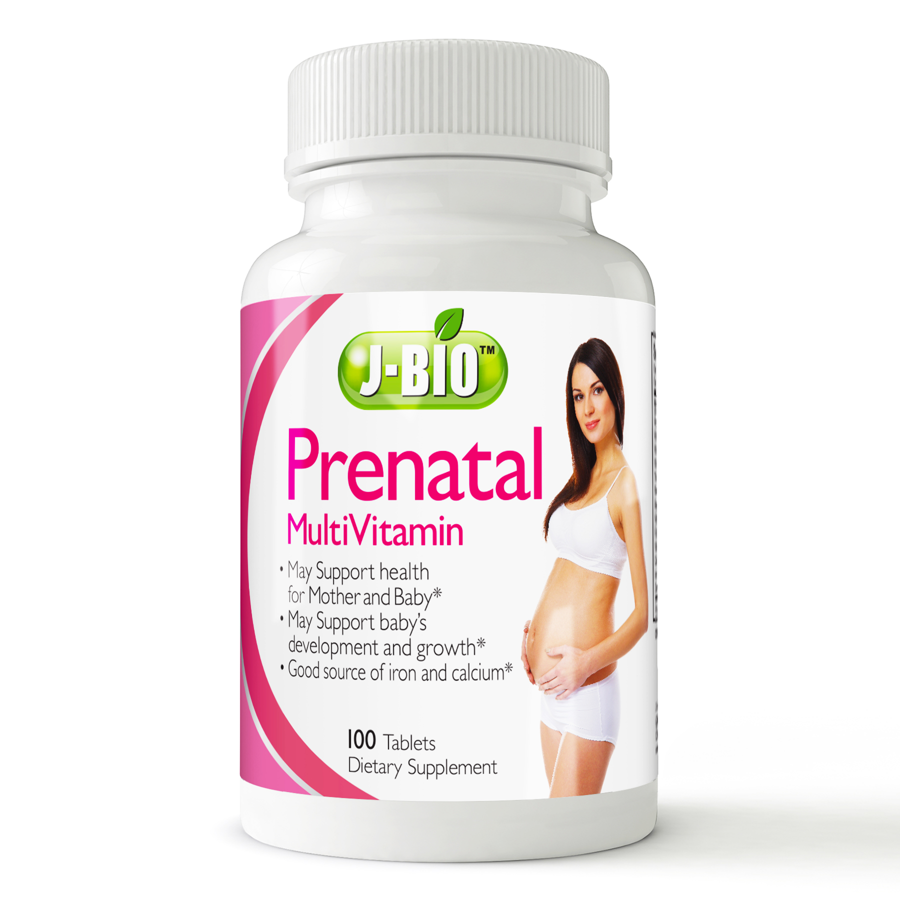 J-Bio™ Prenatal MultiVitamin (100 Tablets)