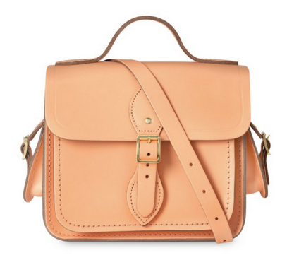 The Cambridge Satchel Company - Sweet Pea Blue Small Traveller Bag