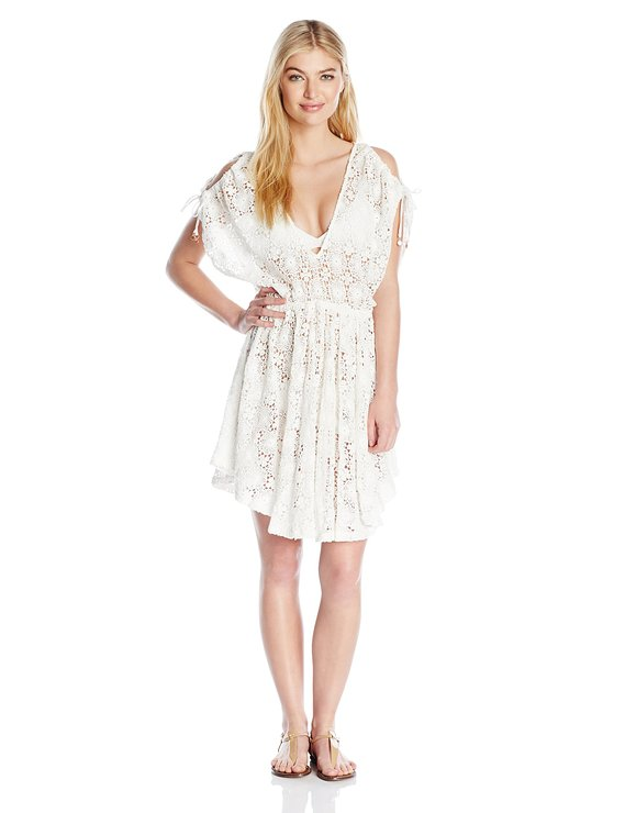 6 Shore Road by Pooja Women's Board Walk Lace Cover Up