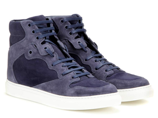 mytheresa.com - Suede high-top sneakers - Exclusive Balenciaga sale - Luxury Fashion for Women / Designer clothing, shoes, bags