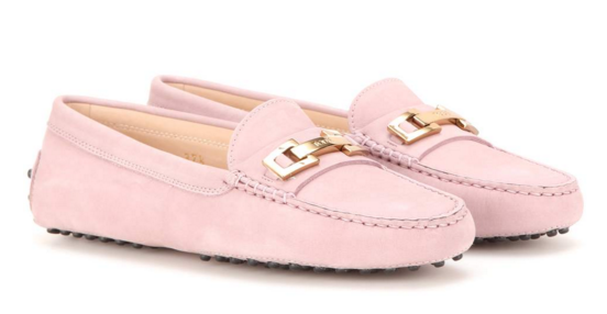 mytheresa.com - Gommini Suede Loafers ∫ Tod's ♦ mytheresa - Luxury Fashion for Women / Designer clothing, shoes, bags