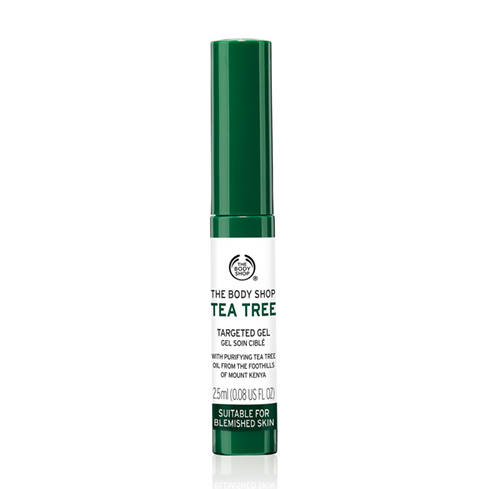 Oily Skin Spot Treatment | The Body Shop Tea Tree Oil Anti-Blemish Gel | The Body Shop ®
