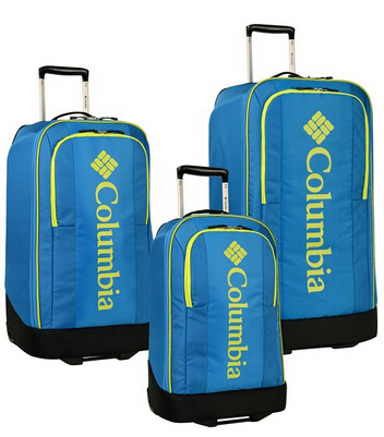 Columbia Chill Out Three Piece Rolling Luggage Set (20