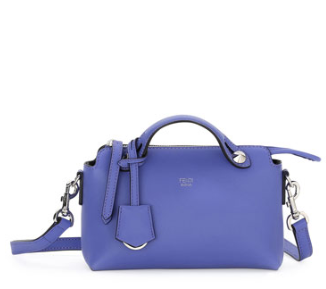 Fendi By the Way Mini Satchel Bag, Purple