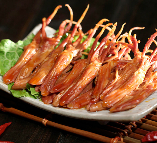 CHUNWEI KITCHEN Cooked Spicy Brined Duck Tongue 150g