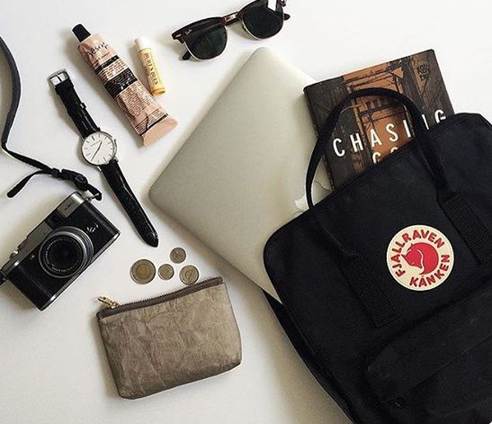 Fjallraven Kanken Daypack, Black: Fjallraven: Sports & Outdoors