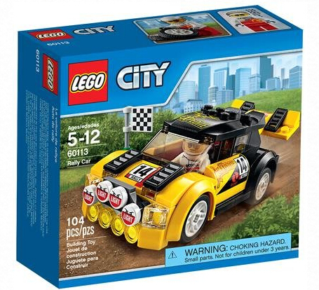LEGO City Rally Car